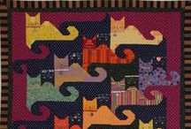 Pet Quilt Patterns / Cat quilt patterns, dog quilt patterns, quilt patterns for people who love animals and more are all gathered on this board to inspire you! / by McCall's Quilting