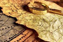Fantasy Maps / Maps of fantasy worlds (books) & old, vintage maps.