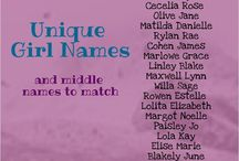 Baby Names / Baby names