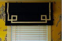 Window Treatments / Custom window treatments, Drapery, Panels, Valances, Cornices, Roman Shades, Curtains / by Tammy Granger