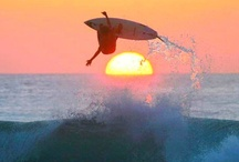 Surf & Sunsets / Surf, surfing, waterfront, lakes, sunsets / by Mark Wagner