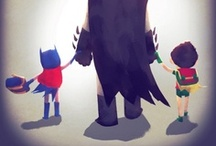 To the Bat Board / To Batman, his comrades and arch nemeses.  / by Carrie