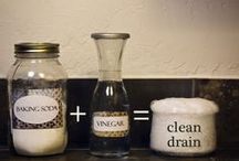 Cleaning & organizing tips and tricks / by Nicole Serrano