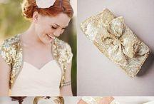 Wedding - Gold / Thema: #goud #trouwen #inspiratie #bruiloft Njoy & Party Events | www.njoyparty.nl