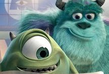 Disney's Monsters Inc. and University / by Teresa Cronin