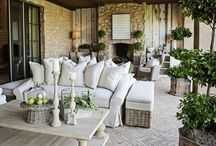 Outdoor living / This is our happy place! / by T