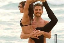 couples yoga / by T
