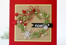 Christmas Cards, Gifts, & Holiday Crafts / Creative ideas for DIY Holiday cards and Christmas projects