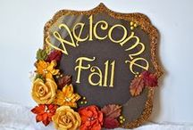 Autumn/Fall DIY Cards & Crafts / Thanksgiving, Fall, and Halloween Paper Crafting and DIY Cards and Invitations