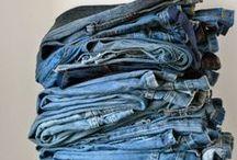 Old denim / Dingen om te maken van oude spijkerbroeken