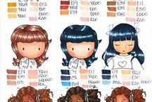 Copic Coloring Tips / A collection of copic marker coloring tips / by Paper Garden Projects