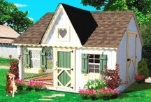 Dog Houses Large Dogs / We love our dogs because they are part of the family so they deserve to live in a dog house that we can feel good about and they are comfortable! Here is an excellent dog house source: www.doowaggle.com  #largedoghouses / by The Game Supply