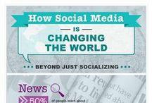 Sociamediaverse & Technology / Infographics showcasing Technology use in Socialmedia. Hope you like my coined term Sociamediaverse :). / by Paul Alfred