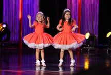 Sophia Grace & Rosie / Pictures from when Ellen's dynamic duo visits, and all the different tutus and tiaras they wear.