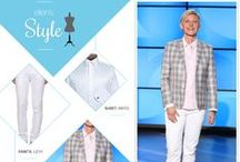 Ellen's Style / Check out the brands that Ellen wears! / by Ellen DeGeneres