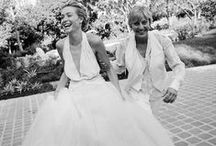 Ellen and Portia's Wedding / Check out the beautiful photos from the wedding of one of the most iconic couples in Hollywood: Ellen and Portia.