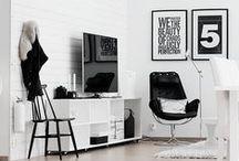 Interior Design / Interior Design ideas - Black and white interior design