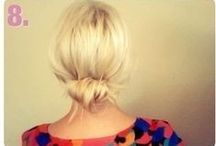 Hair / Pictures of hairstyles I love. / by Elizabeth Bitterman