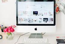 b l o g g i n g / ( a collection of tips to help your blog grow )
