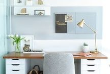 h o m e : office / (inspiration for my dream office)