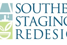 Southern Staging & Redesign Newnan Home Stager / Before and After Photos of preparing and staging a property.