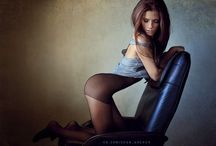 Sensual in Stockings / Beautiful women in stockings and lingerie.  / by SMS