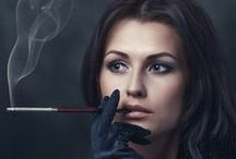 Smoking Hot! / Beautiful photography of women smoking. / by SMS