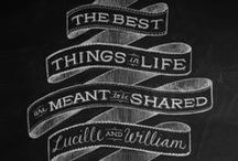 Chalkboards & Signs / Chalkboard Inspiration Board / by Kristen Stansell | Crafted By