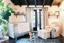 h o m e : nursery / ( a baby's first room )