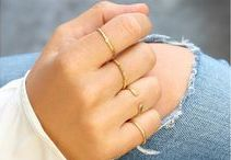 Ring Close Ups / Mix and match rings