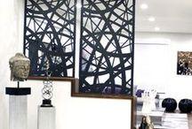 Remnant | Indoor Metal Screens / Laser Cut Metal Screens | Functional art for indoor spaces. Room dividers, railings, accent features +