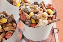 snacks and treats / by Sarah Kargol