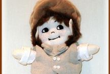 Linda Walsh Originals - Dolls / My Big Sisters Dolls  / by Rock Garden Alpacas & Inspired Creations by D