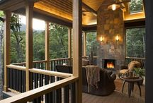 Outside and Loving It  / Great ideas for outdoor areas and outside entertaining