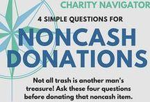 Noncash Donations