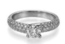 Diamond Engagement Ring / Diamond Engagement Ring