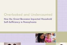 Overlooked and Undercounted: Impact of the Great Recession as Measured by the Self-Sufficiency Standard of Pennsylvania / by PathWays PA