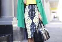 style | the working woman  / Inspired to look sexy and stylish, stay comfy and confident in the office!  Need: more pencil skirts, summer office dress, and office tops! / by Vivian Tang