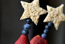 Cute Ideas: Holidays 4TH OF JULY/PATRIOTIC / Let's say it with firecrackers, with banners held high-- Let's have a real old crazy 4th of July... / by Vicki Newendorp
