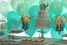 Baby shower ☔️ / It's a boy! Baby shower inspiration.