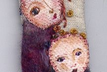 Fabric/fibre jewellery