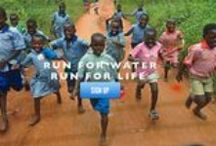 I care. And so I run.  Team World Vision: running the TC Marathon in Oct / by Vicki Newendorp
