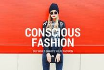 Fashion+Conscious Basics / Sustainable and social good basics: Awesome Stats, Charts and Articles
