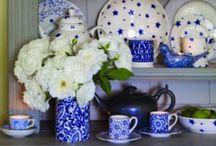 Inspiration - blue & white כחול ולבן