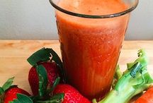 Juicing and Smoothie Recipes / Fruit and Veggie Juice Recipes and detox water recipes for healthier living