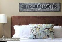 Guest Room Ideas / by Nancy Cahn