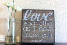 god is love. / by Shea Mack
