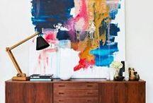 art. / Art, inspiration and tutorials for gallery walls.
