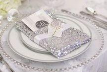Winter White {Sparkle} Wedding / Winter, white, sparkle themed wedding ideas / by Jillian Crosby