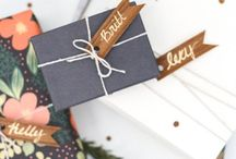 Wrapping Ideas / Wrapping and packaging ideas for all occasions and holidays.